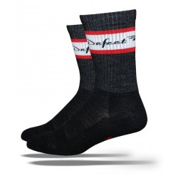 Defeet Classico red scarlet/white