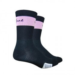"Defeet Cyclismo 5"" trico black & pink"
