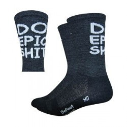 Chaussette Defeet Wooleator DO EPIC