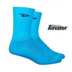 Defeet Aireator Hi-Top double layer ocean blue