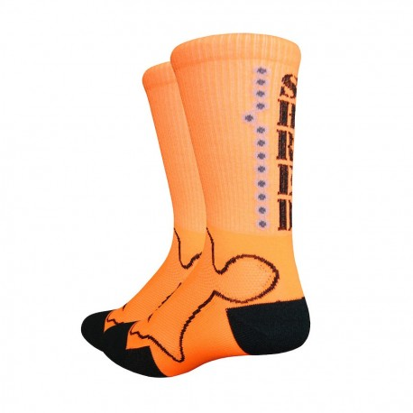 "Chaussettes Levitator Trail ""Shred"" orange"